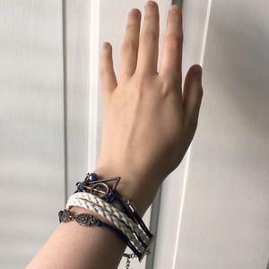 Jewelry - Harry Potter deathly hallows charm bracelet